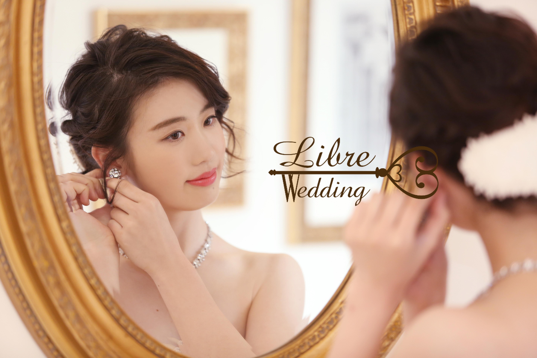鏡の前の花嫁様♡